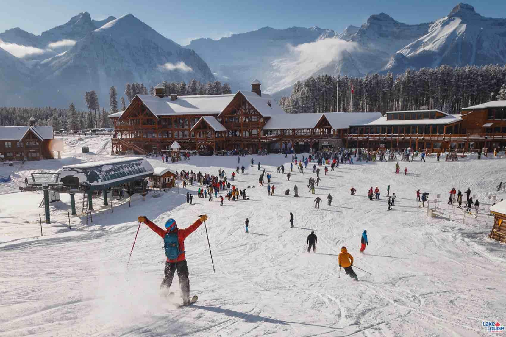 ski in sunny california