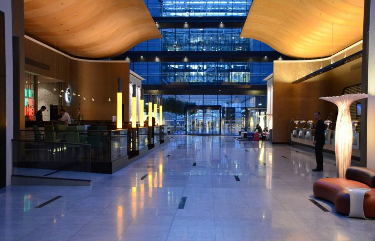 Hilton Frankfurt – Airport hotel next to departure