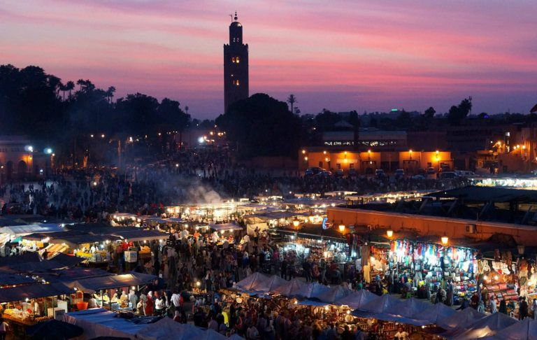 Marrakech: After dark life goes wild on the Market