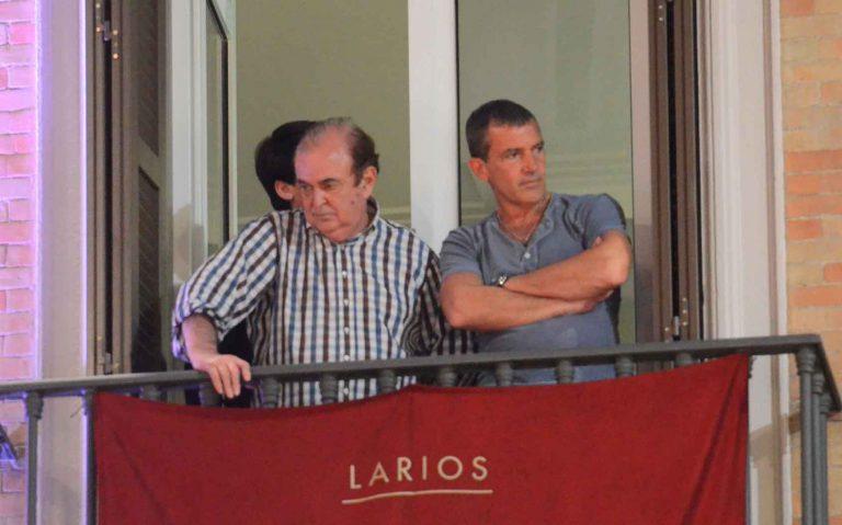 Jesus, Mary and Antonio Banderas in Malaga