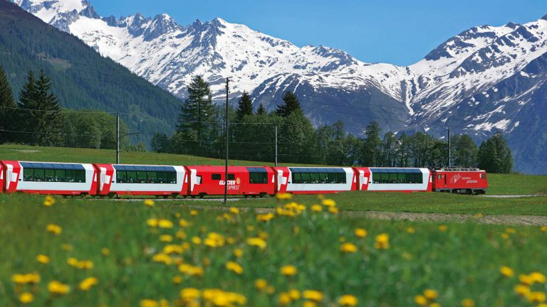 Switzerland by train, bus and boat – and one ticket