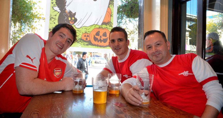 Pub Guide for Arsenal fans near Emirates