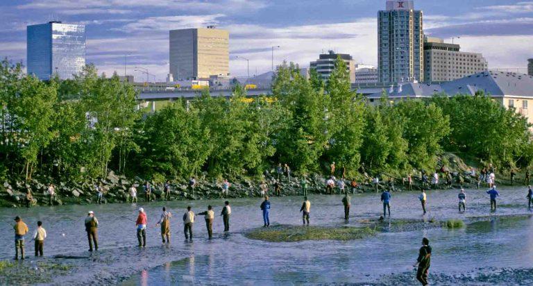 Anchorage an Urban oasis in untamed Wilderness