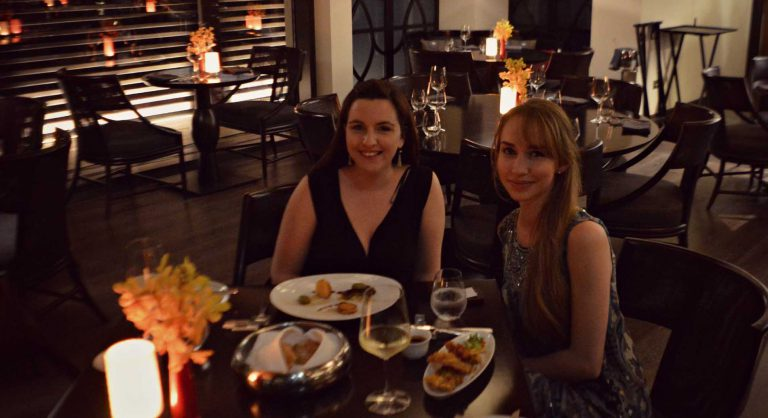 Chic seafood dinner at beachfront in Dubai