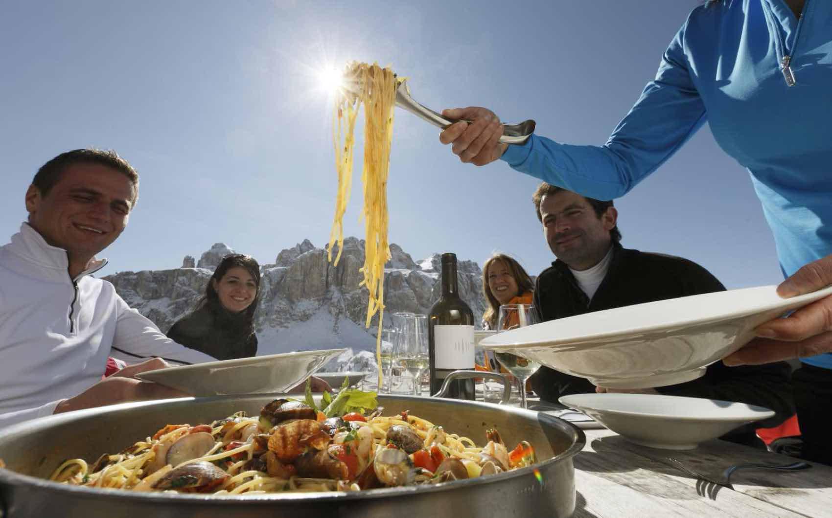 Skiing Italia