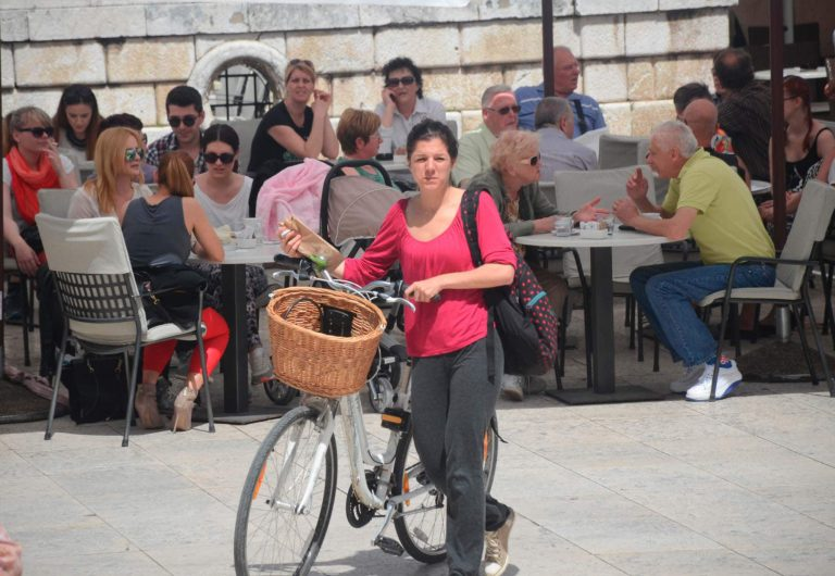 Historic Zadar with extra long Catwalk