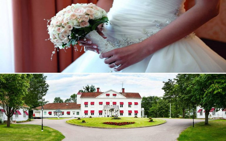 Wedding dream and a private church in Sweden