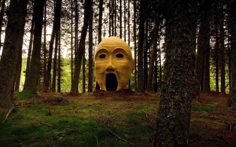 Forest Head of timber and other outdoor art of Britain