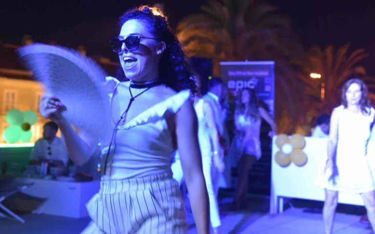 Epic White Party makes you stay fit and in shape