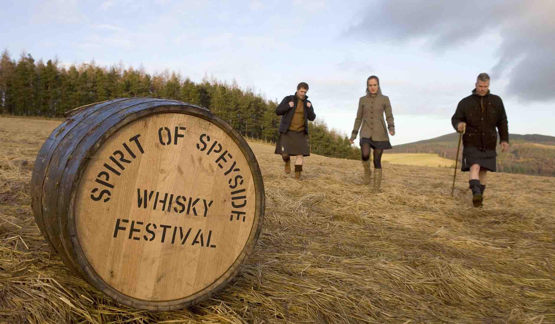 Whisky festival in Scotland