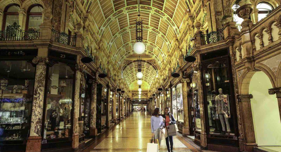 historic shopping quarters