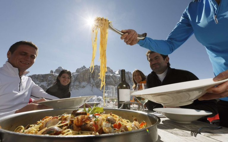 Alta Badia, South Tyrol: Taste of childhood at Ski safari