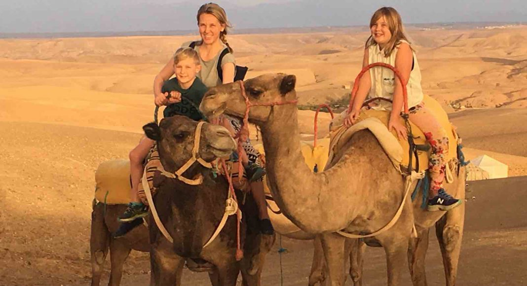 Marrakech with kids