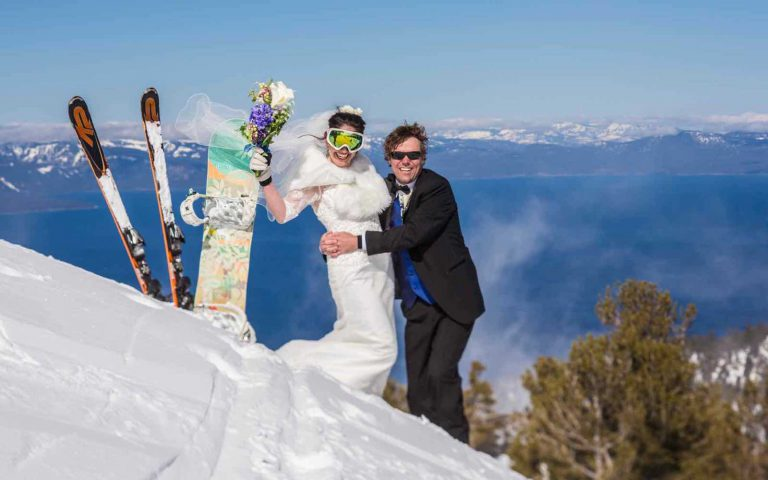 Lake Tahoe is the backdrop for serious romance