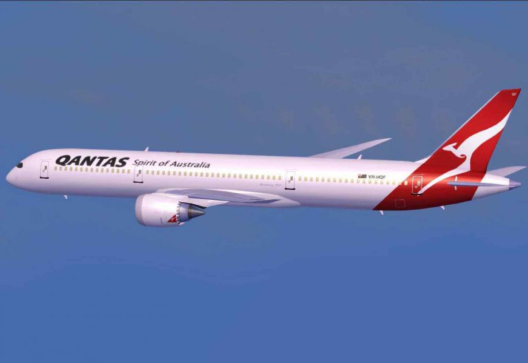 Qantas and the non-stop Perth to London flight