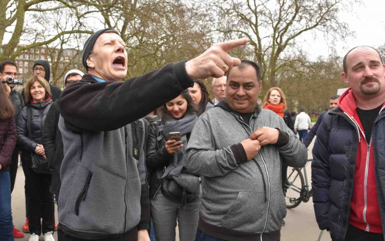 Speakers Corner: Pick up a fight of free speech