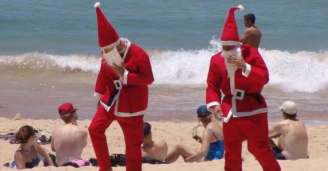 Christmas In Australia Santa.Santa In Nashville Here It S Christmas Every Day