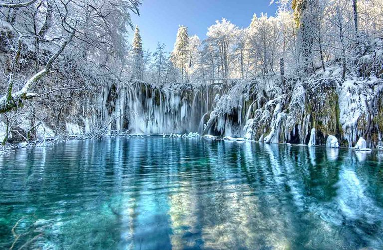 Winter in Croatia