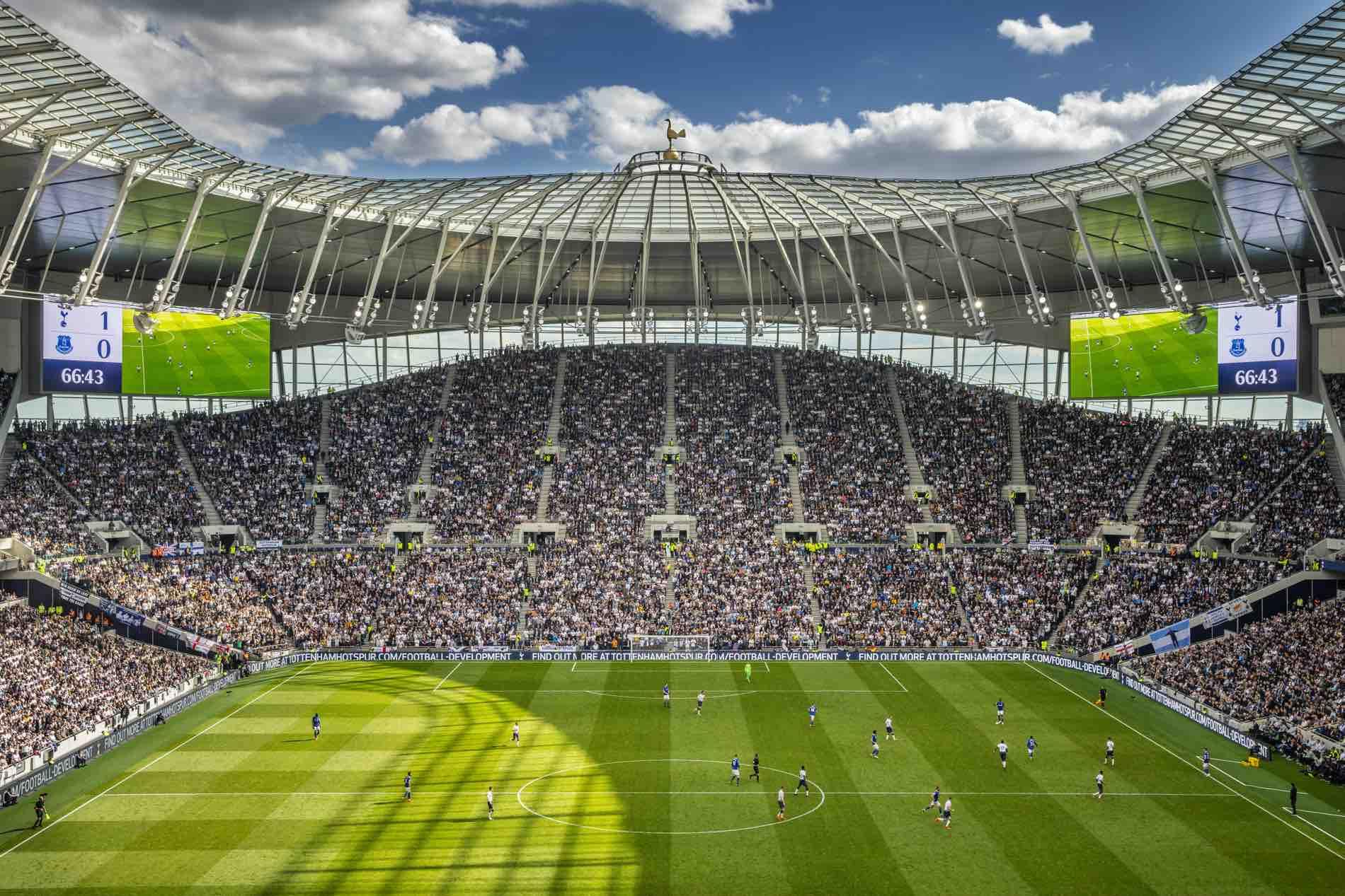 Tottenham Hotspur; New Stadium, Match and Tours - King Goya