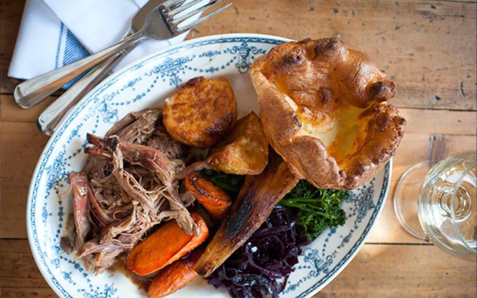 sunday roast in London
