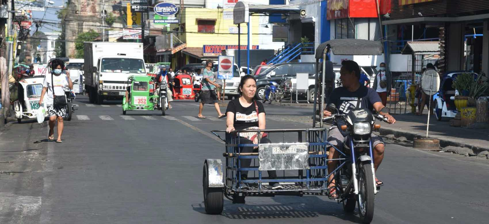Daily life in Laoag City before the lockdown