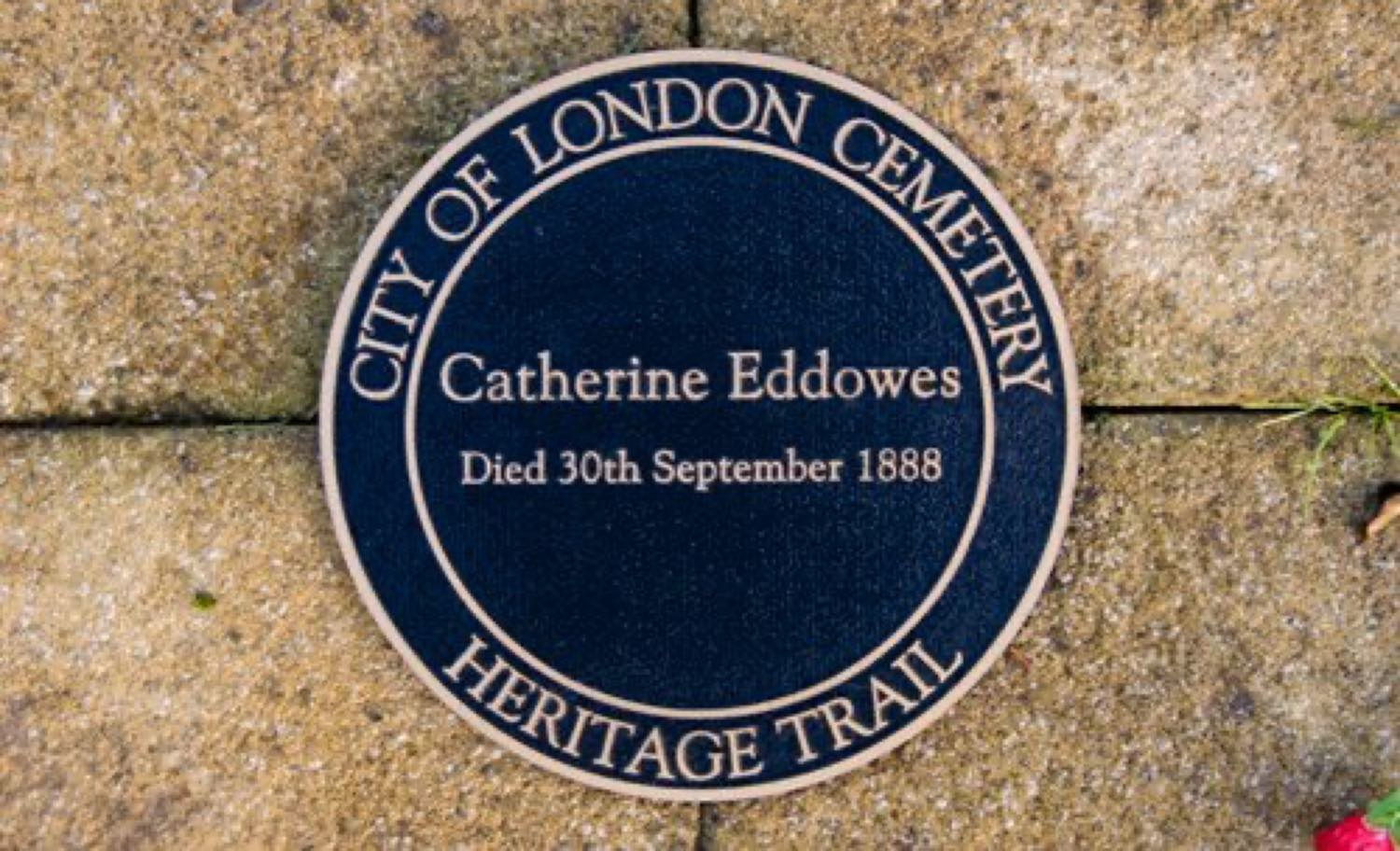 In memory of Catherine Eddowes - one of the victims