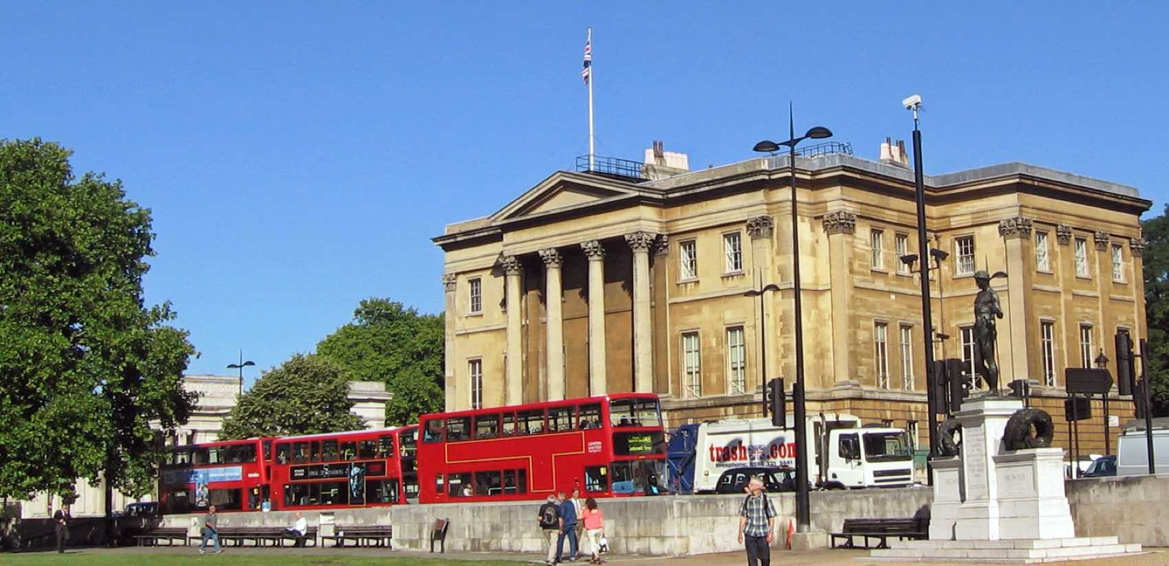 Central London; Apsley House and Wellington Museum