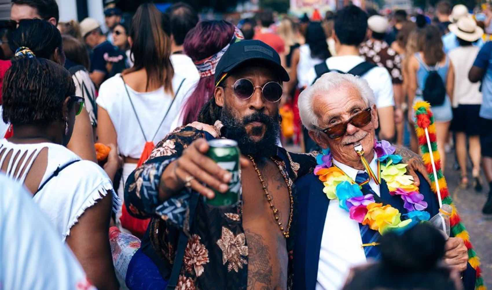 Fun at the Notting Hill Carnival