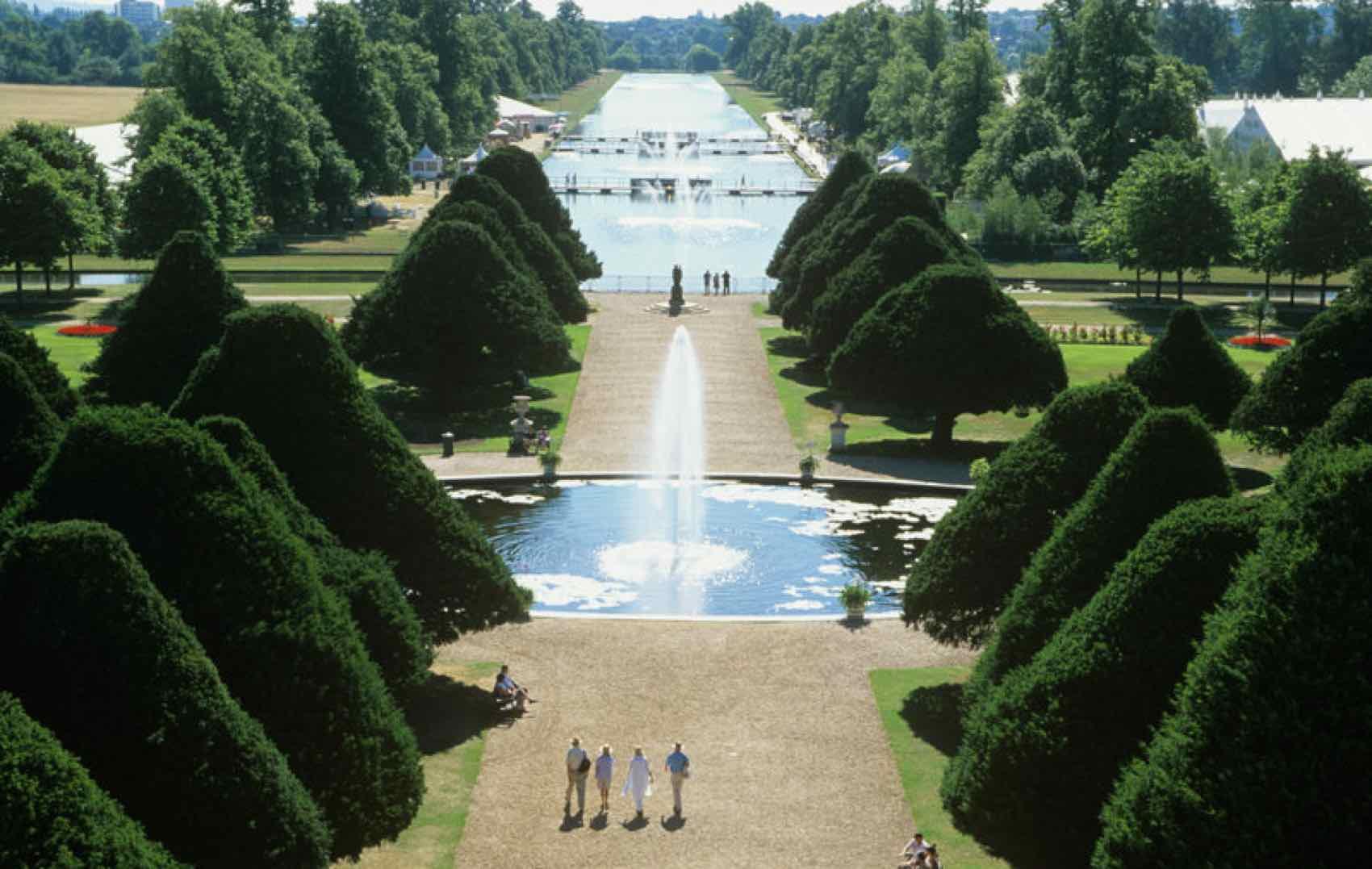 The Great Fountain Garden
