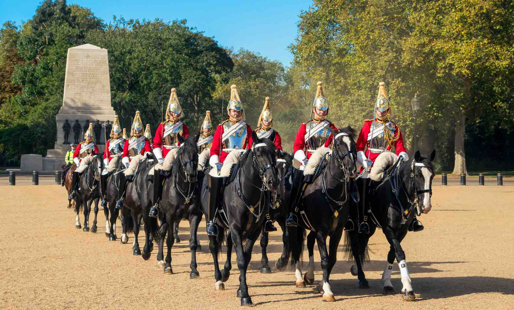 A Horseguards Parade at Buckingham Palace