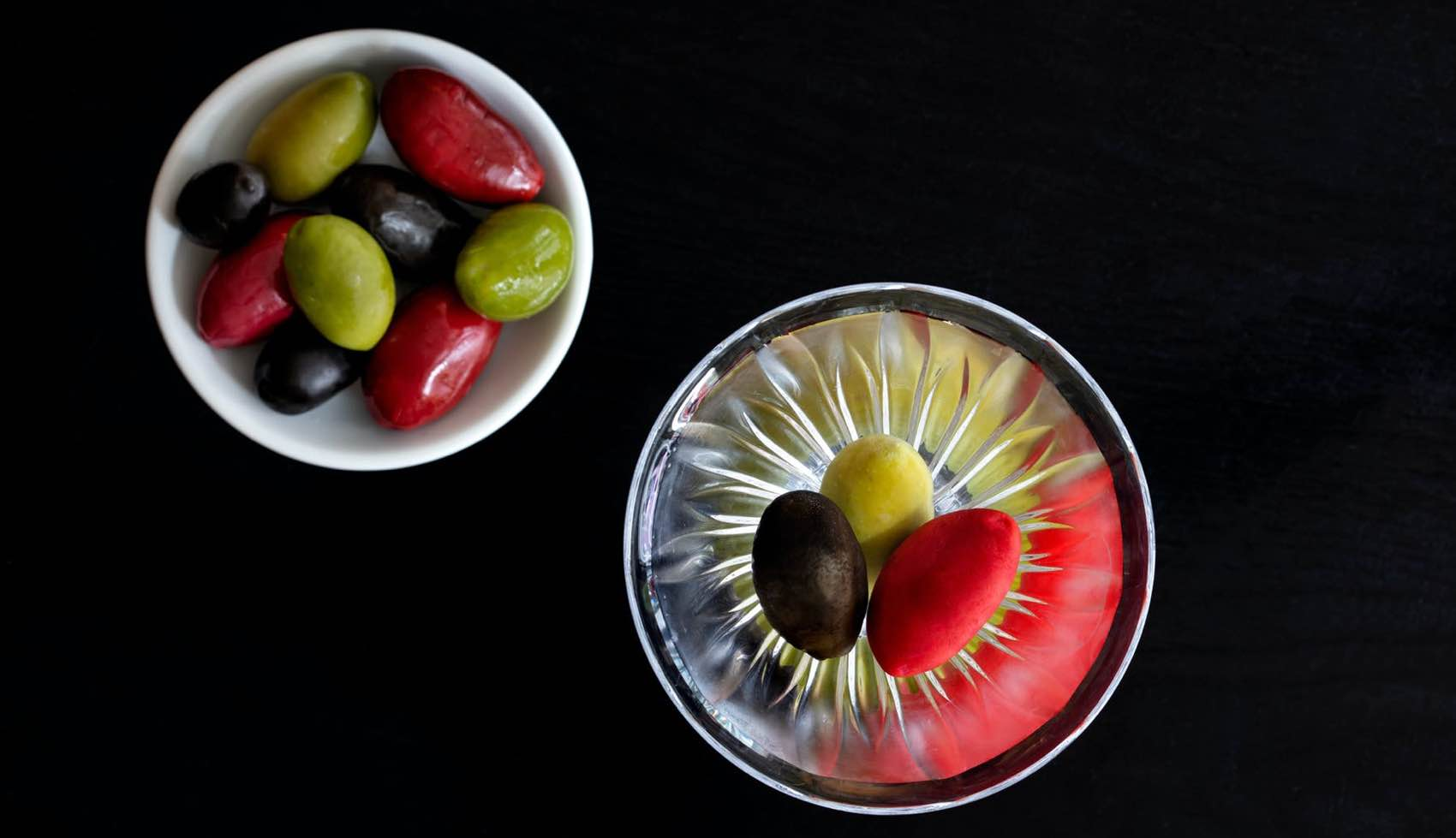 Italian style: The art of Negroni - served with olives