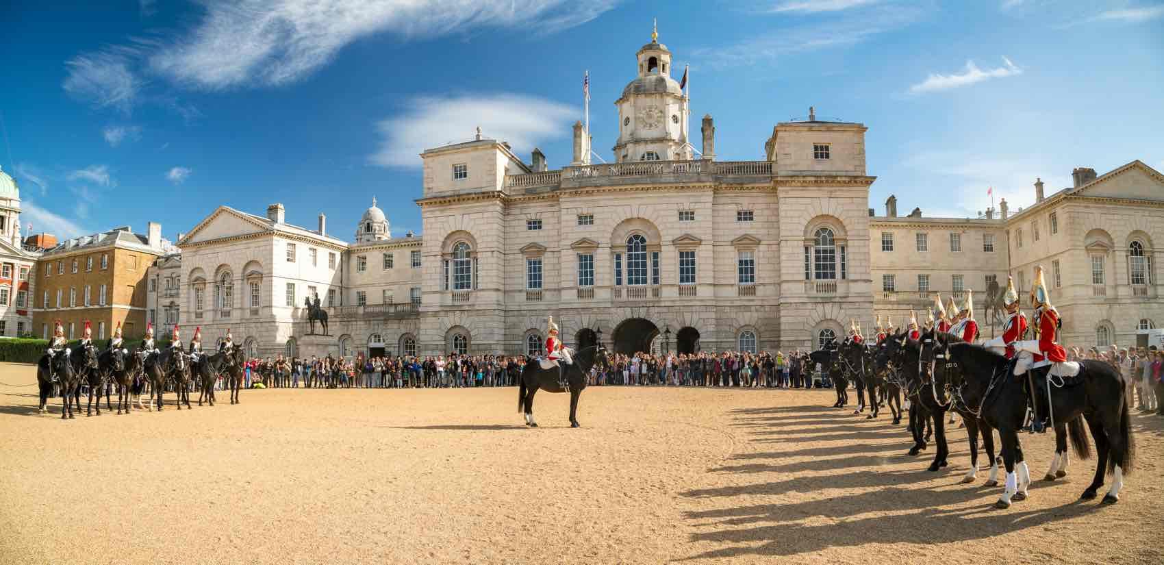 Horseguards Parade at Buckingham Palace