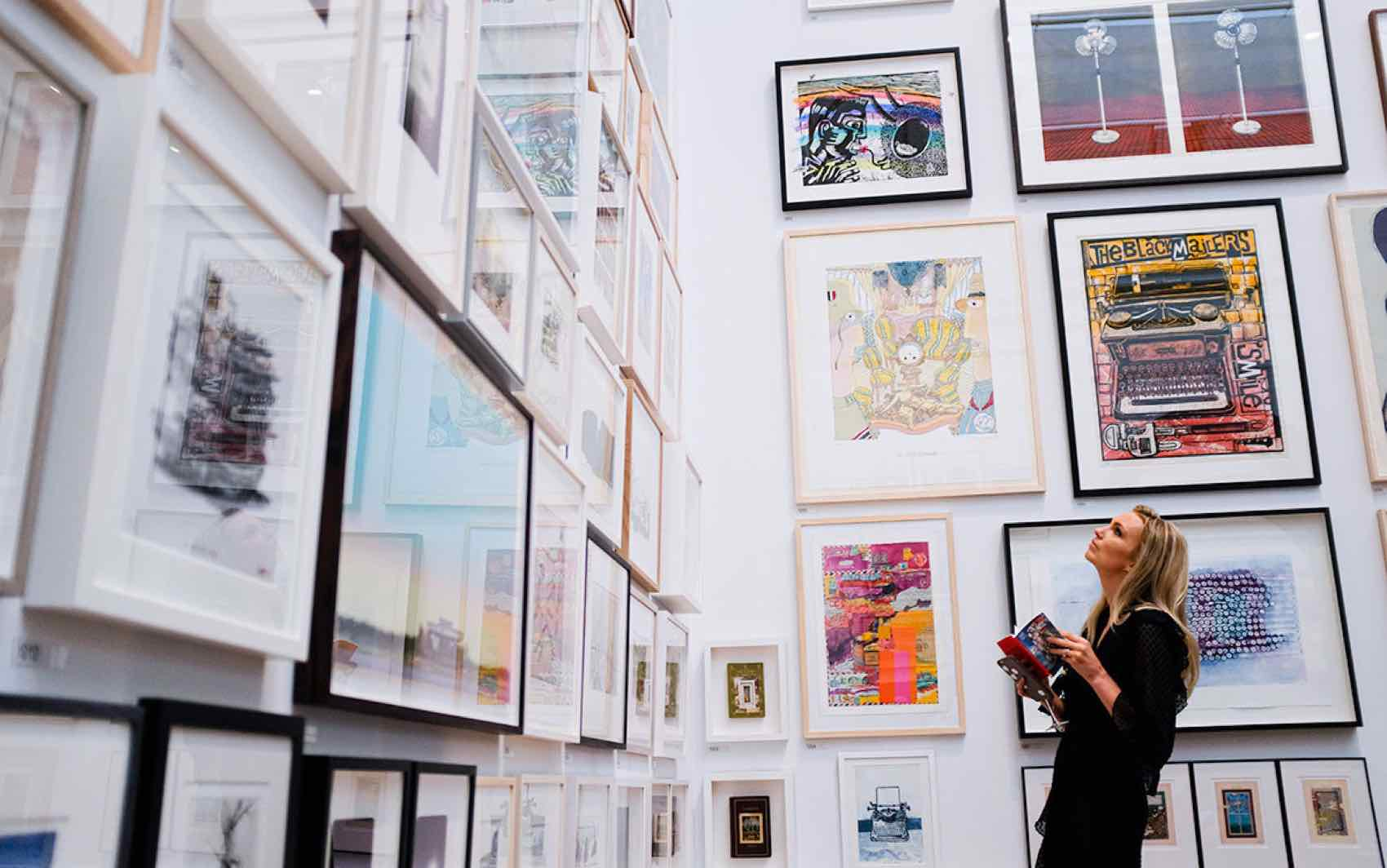 Summer Exhibition at The Royal Academy of Art