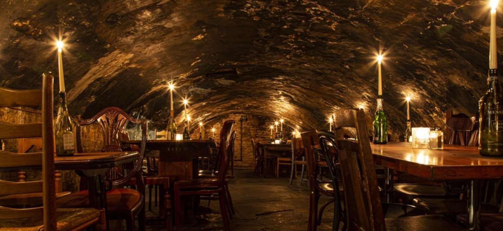 Gordon's Wine Bar close to Covent Garden is unique