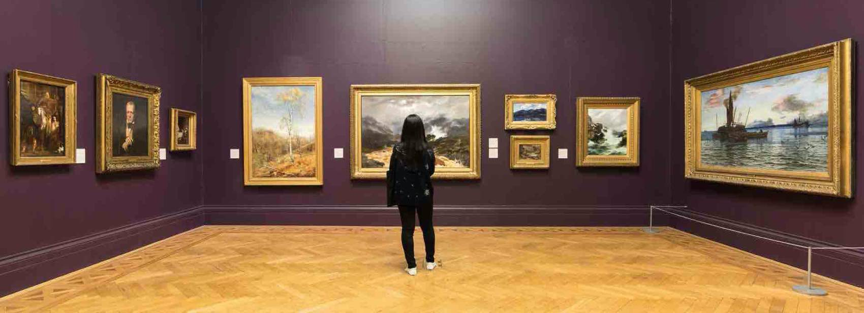 Discover artwork of some of the finest British artists at Manchester Art Gallery