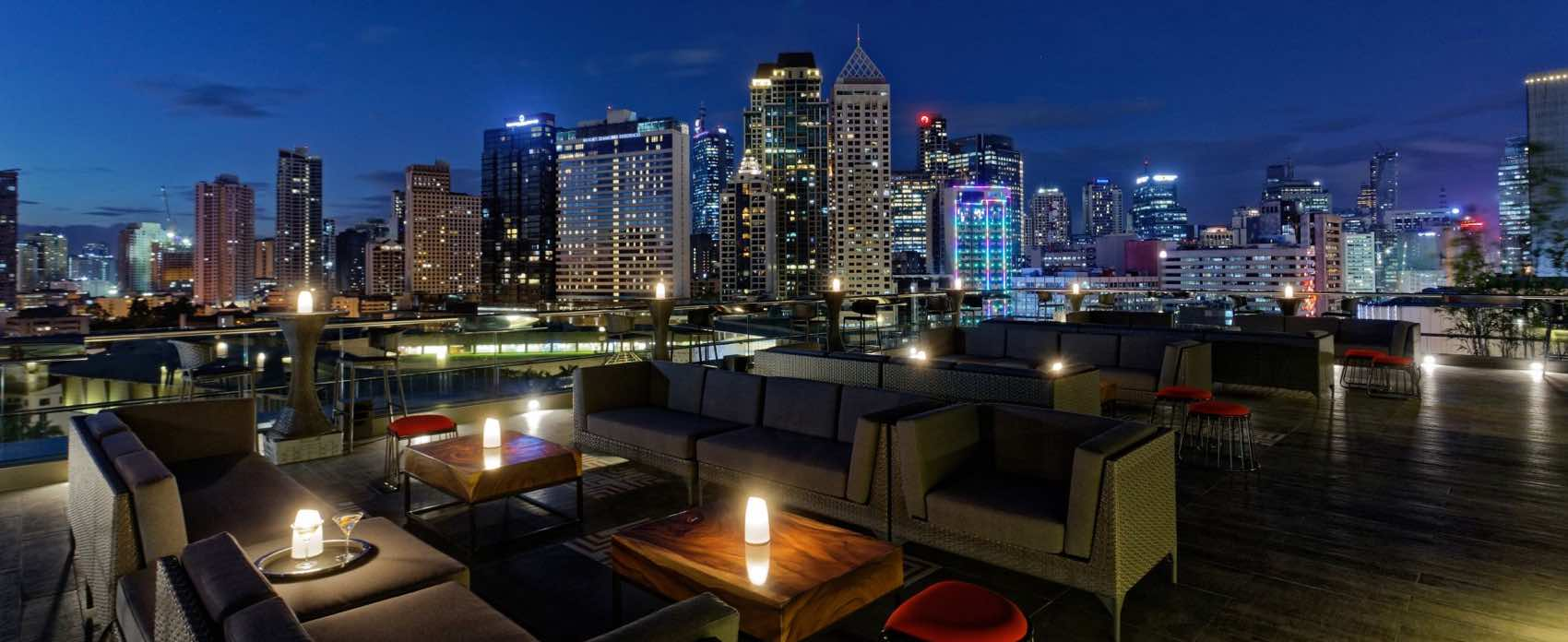 Best View: Mistral Rooftop Bar in Manila