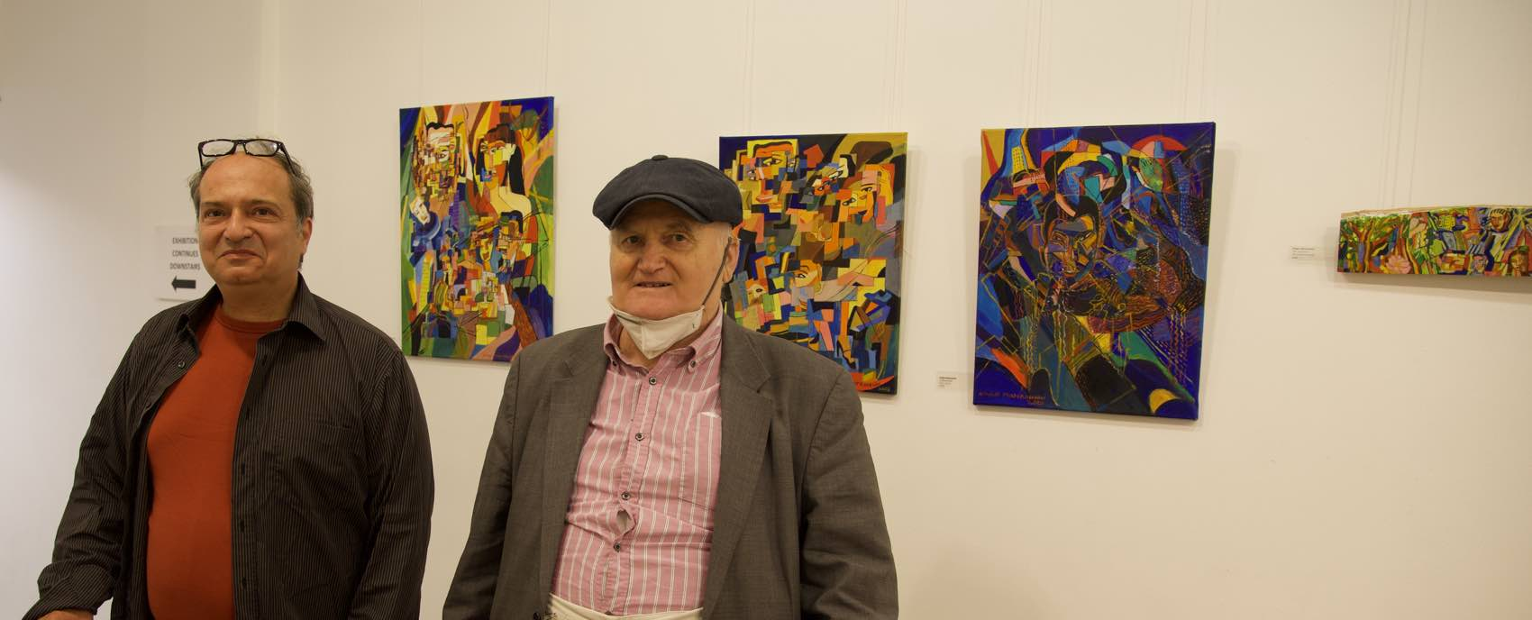 "Art Life Matters: ""Interesting paintings"", the local David Ceasar told artist Biagio Mastroianni"
