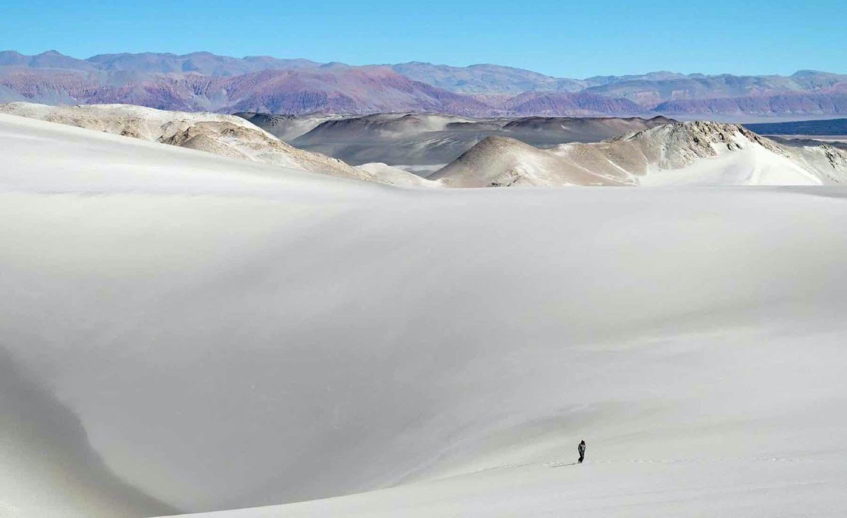 Walking wild in the region of Salta, Argentina