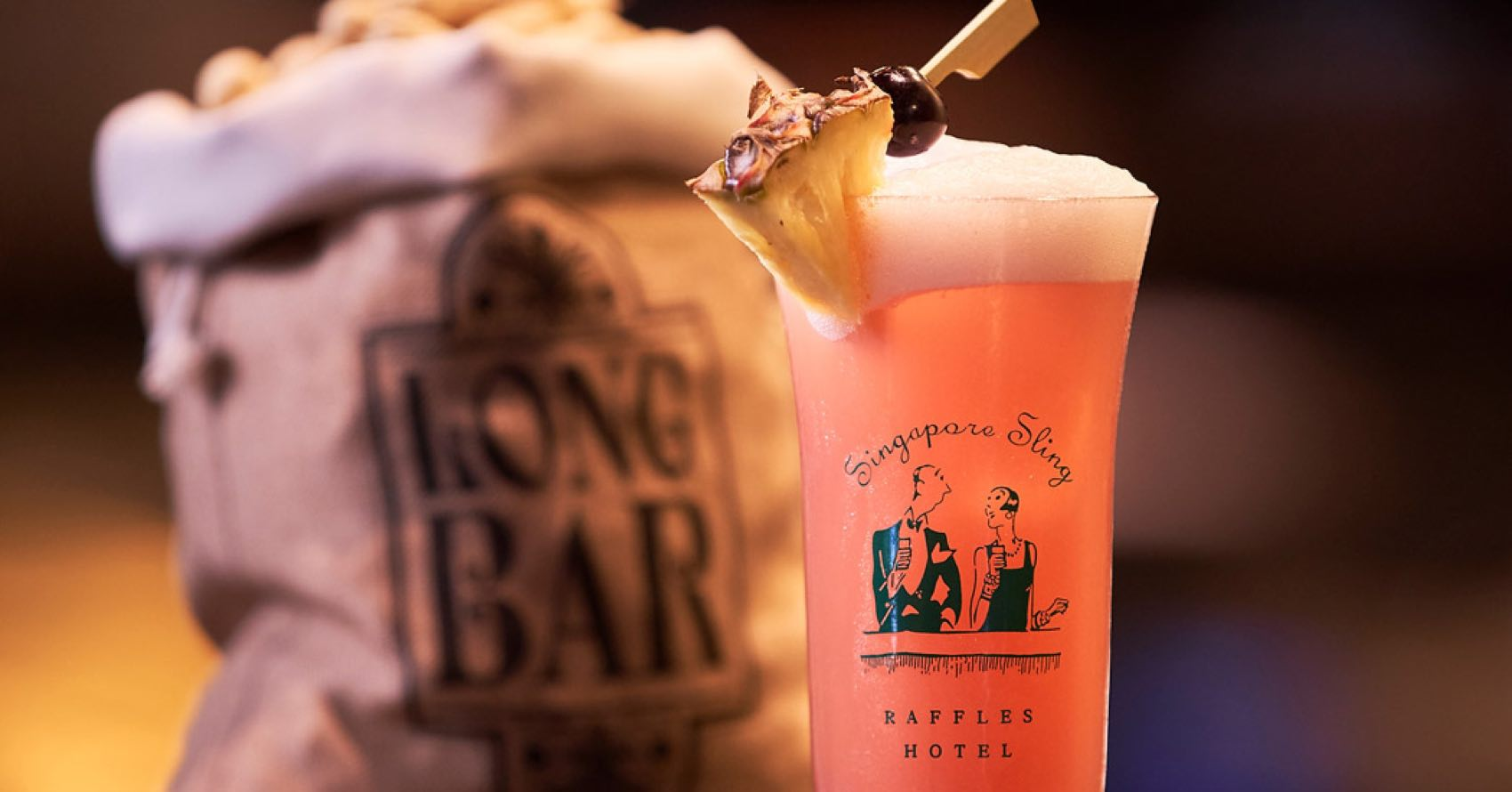Singapore Sling gives a summer feel with a cooling and bitter-sweet after taste with an alcoholic content close to 7%.