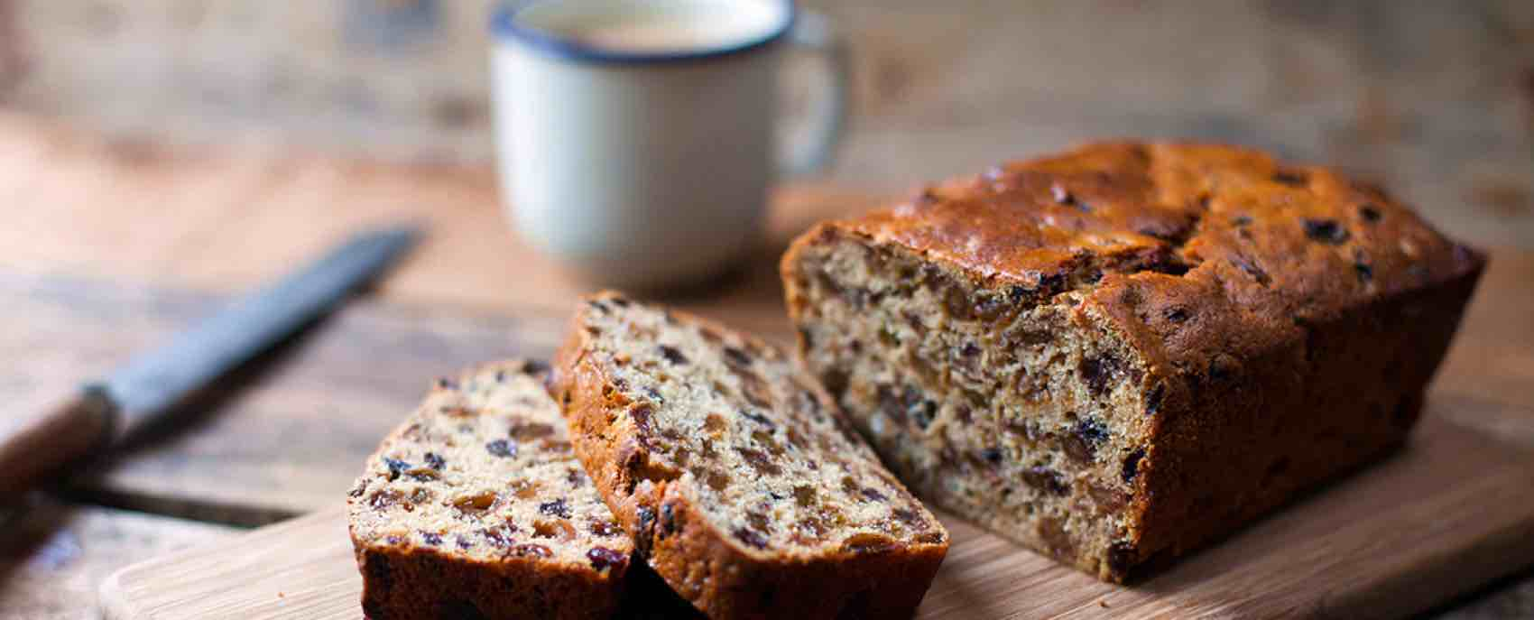 Barmbrack is a slice of tastiness, a sprinkling of history in with the flour and eggs.