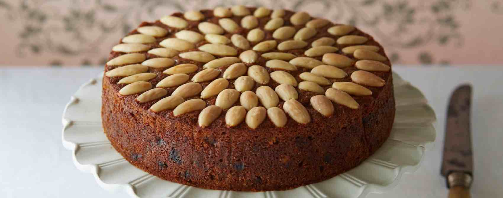 Dundee cake, a taste of Scotland and Bake Britain