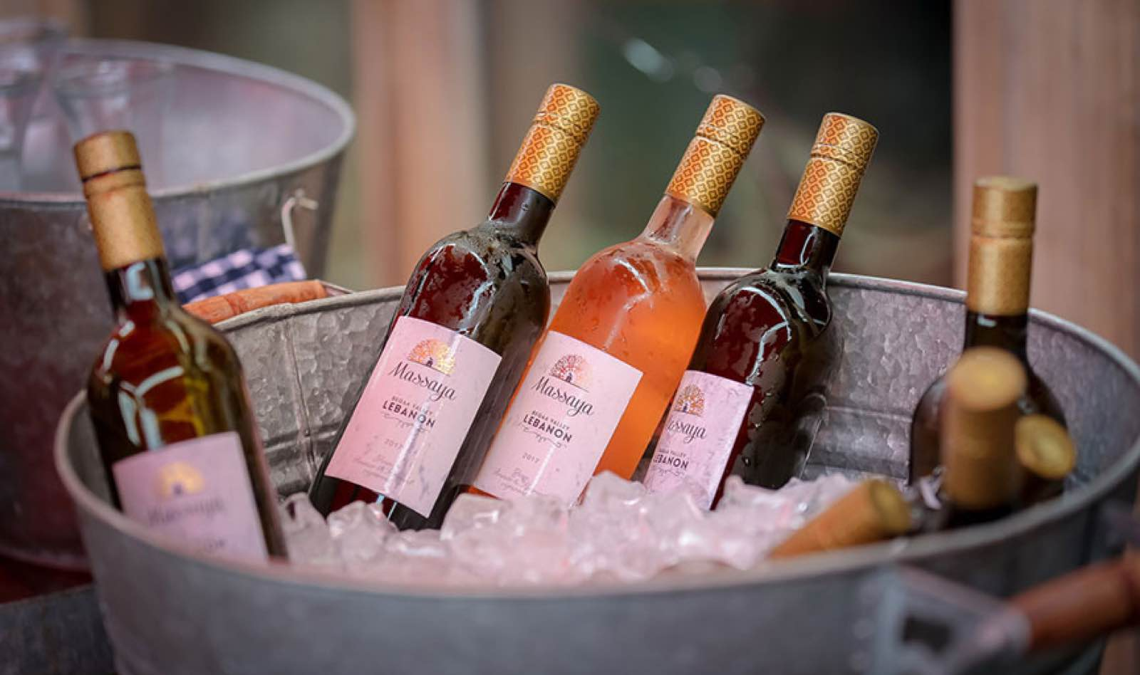 White and rosé wines are the popular summer wine in Lebanon
