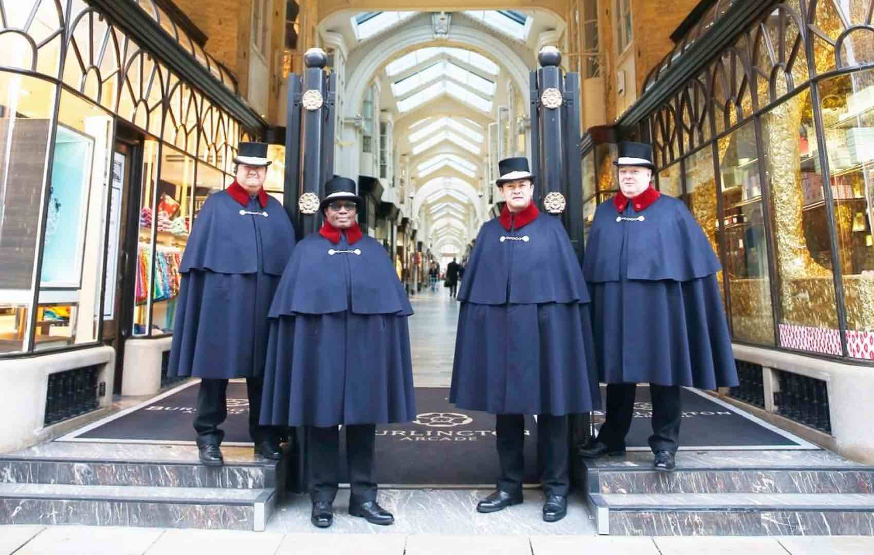 Meet the Beadles: The centuries-old private police force at Burlington Arcade, the world's swishest shopping mall