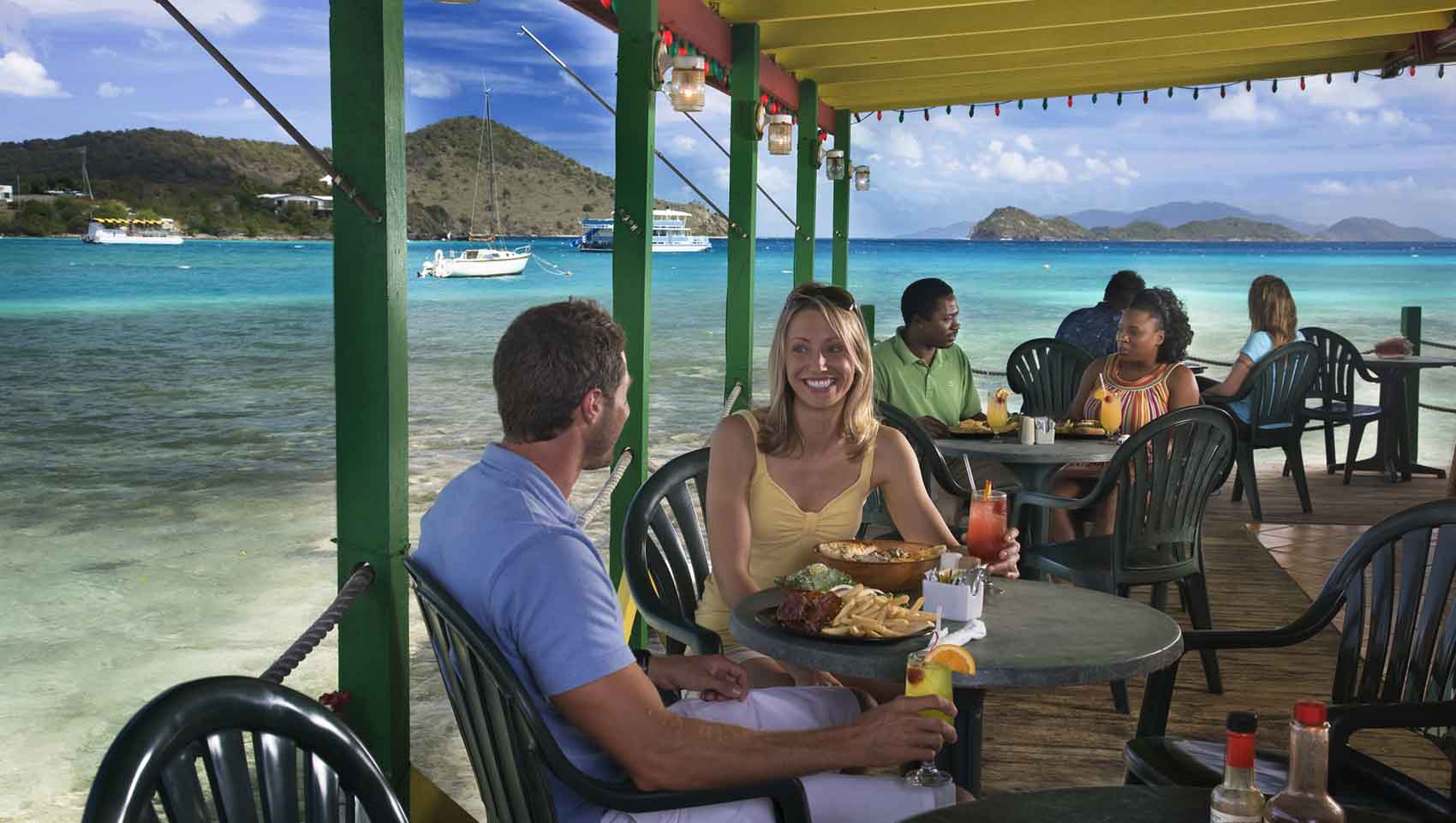Sea, sun and all smiles on St. Thomas in the U.S. Virgin Islands for historian's and an adventure-seeker's.
