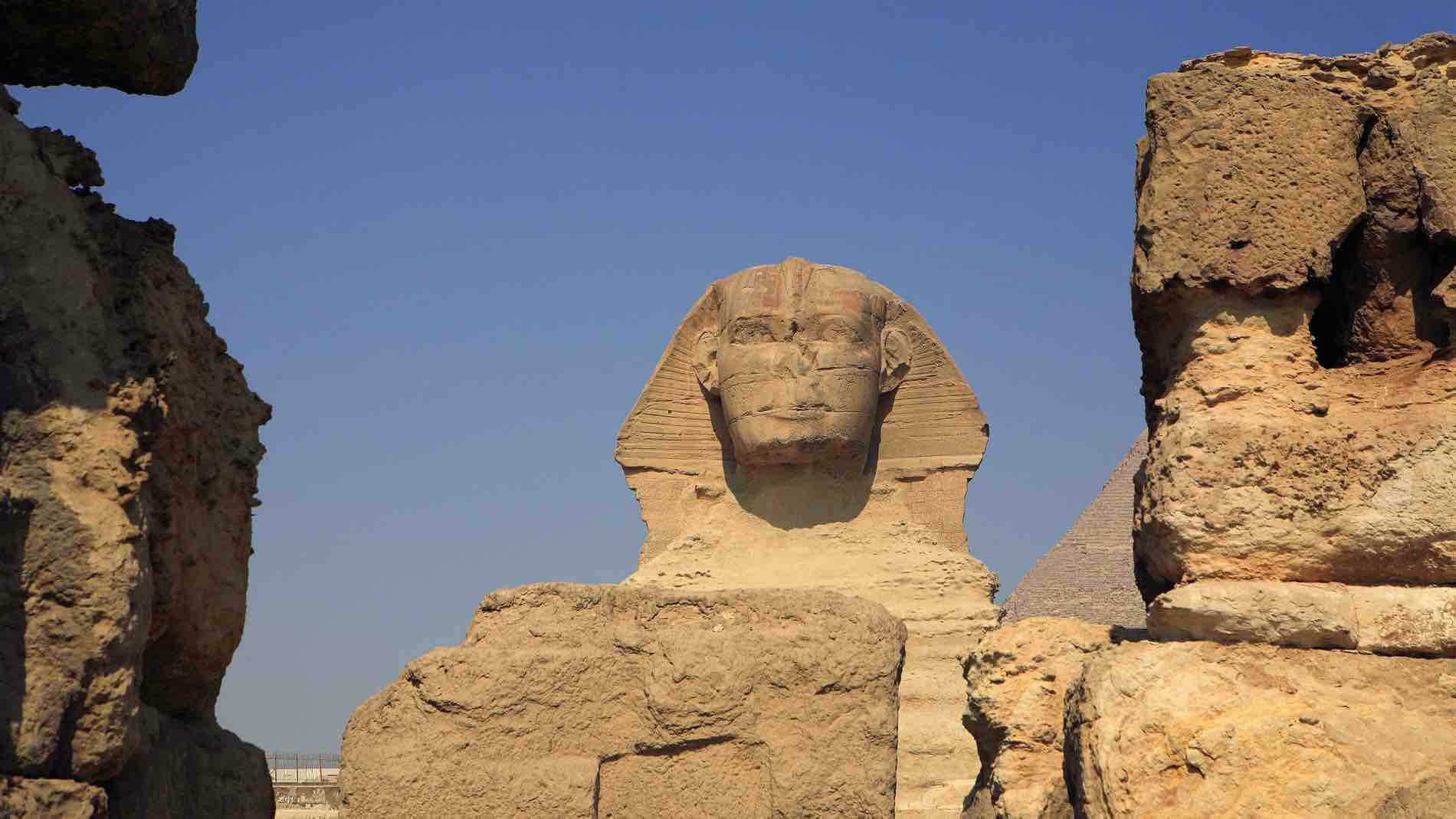 Great journey: Face to face with The Sphinx in Giza, Cairo