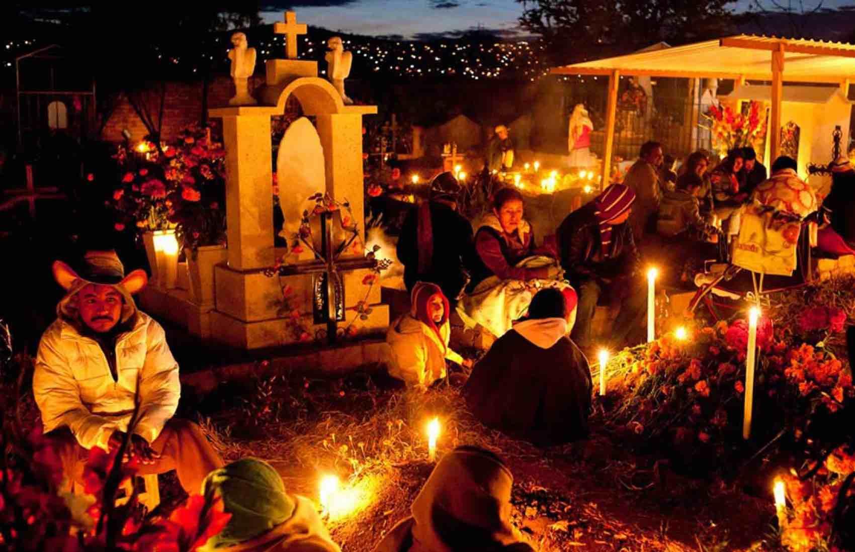 Dia de Muertos in Paztcuaro town