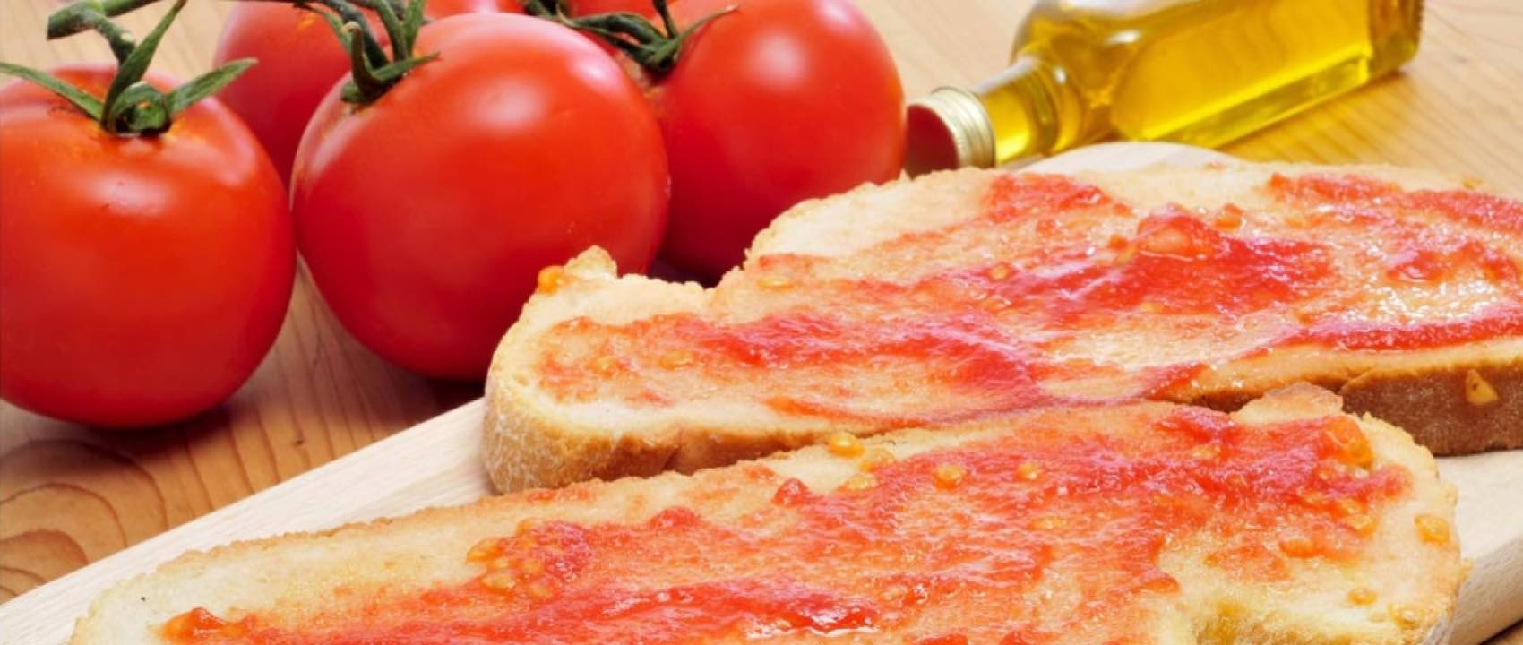 Pan Tumaca is typical in Catalonia