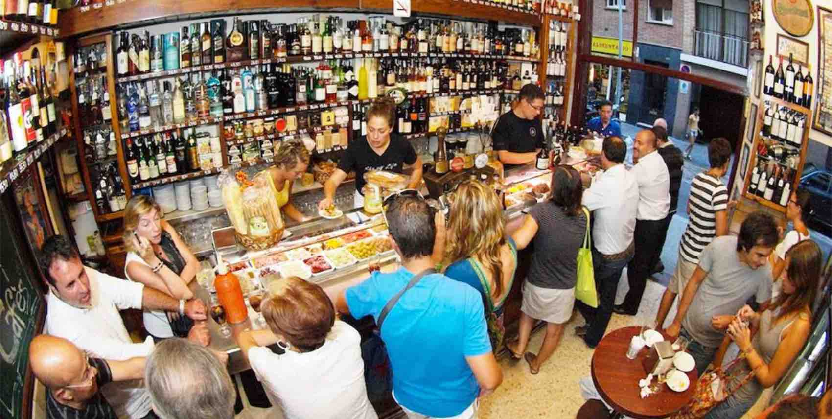 Tapas in Barcelona - and tapas served all over Spain