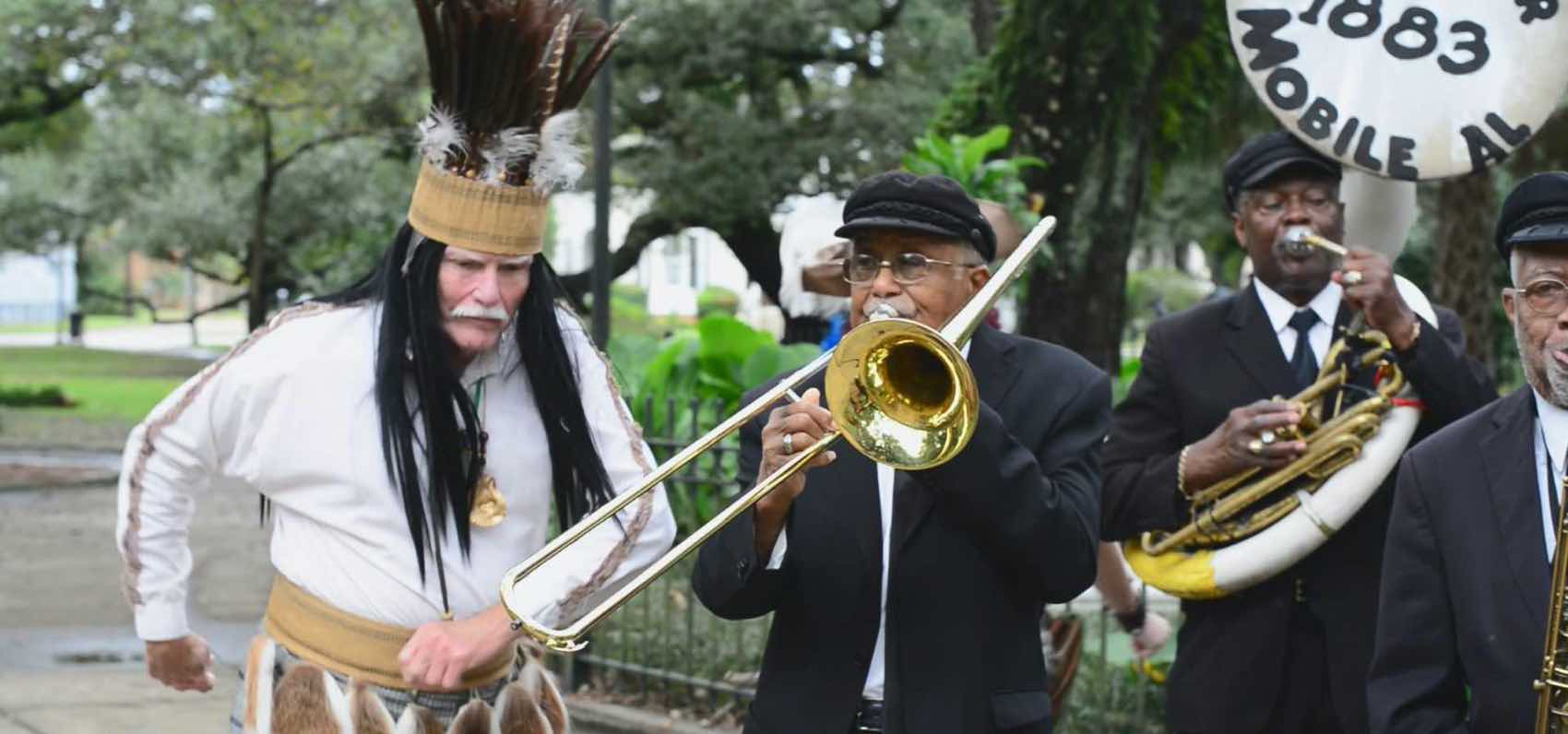 Music: Mardi Gras in Alabama means music by brass bands