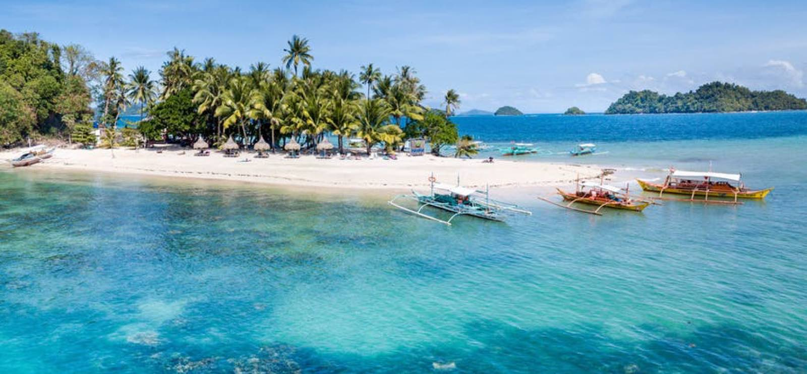 Palawan - perfect area for island-hopping in the Philippines